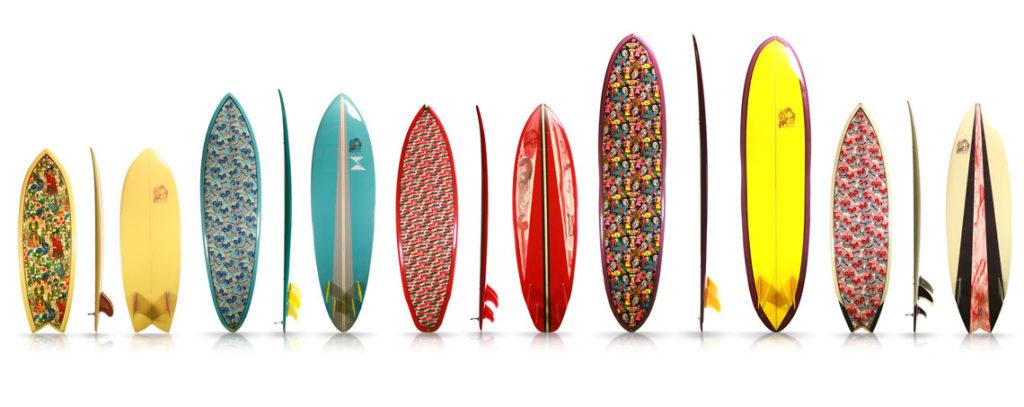La Mision beginner surfboard quiver