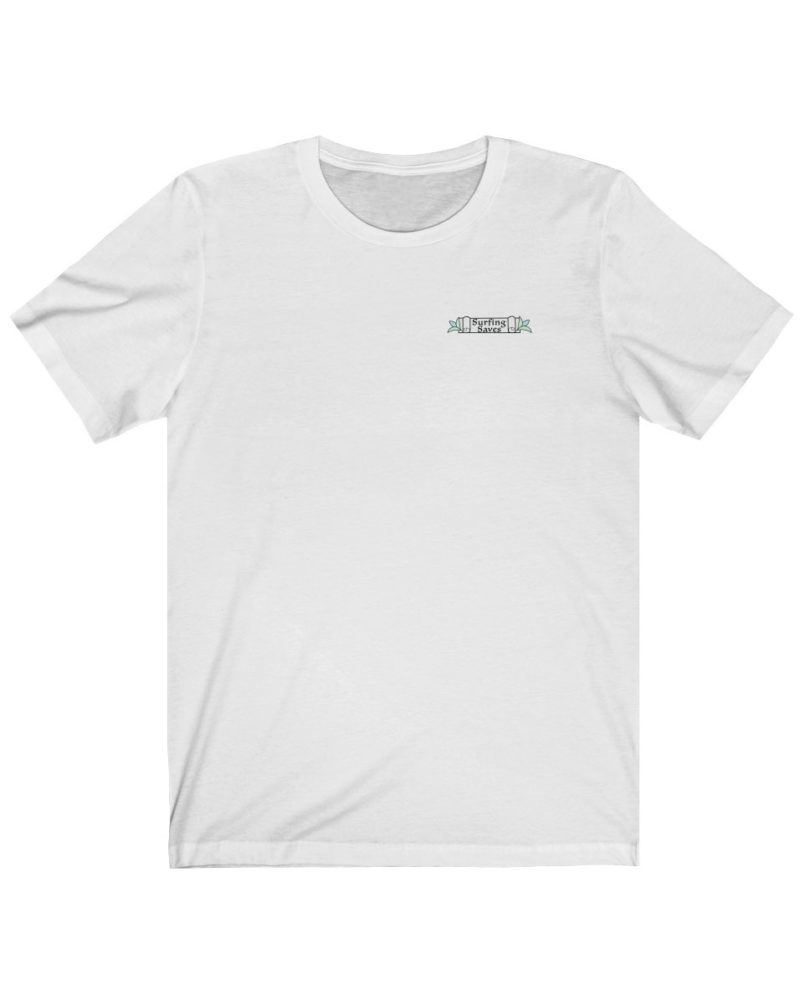 Surfing Saves T-Shirt Front